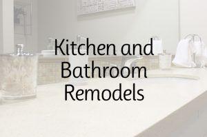 Kitchen and Bathroom Vanities